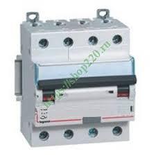 Купить Дифавтомат <b>Legrand</b> DX3 АВДТ 4П C16А 30MA тип AC 4 ...