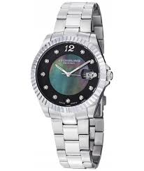 Women's Lady Clipper Pearl Date Silver