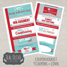 coupon booklet valentine coupon book printable love coupons r tic coupons diy coupon booklet