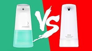 Сравнение <b>дозатора</b> мыла <b>Xiaomi Xiaoji</b> MiniJ vs Xiaowei ...