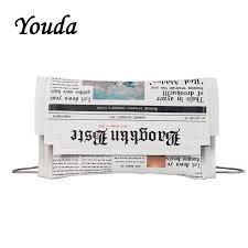 <b>Youda Original Design</b> Newspaper Printing PU Material Shoulder ...
