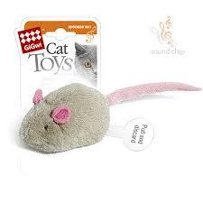 <b>GiGwi Cat Toys</b> / <b>Игрушка</b> Гигви для кошек Мышка со звуковым ...