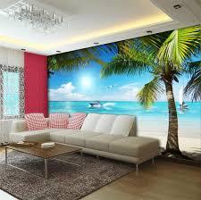 bedroom wallpaper custom aliexpresscom buy d room wallpaper custom hd photo murals palm beach y