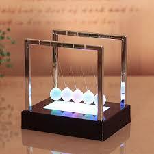 <b>Newton LED Light Swing</b> Balls Ornaments Balance Pool Physical ...