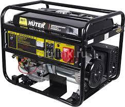 Купить <b>Бензиновый генератор HUTER DY9500LX</b>-3, 380 В, 8кВт ...