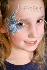 Angel eyes - face painting | Детский грим, Идеи, Работы