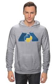 Толстовка Wearcraft Premium унисекс <b>SPb</b> Python Classic Design ...