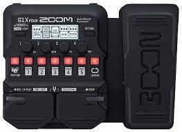 Купить <b>Гитарный процессор ZOOM</b> G1X FOUR с бесплатной ...