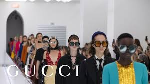 Gucci Spring <b>Summer 2020 Fashion</b> Show - YouTube