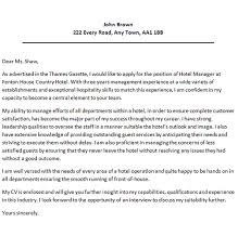 hotel manager cover letter good luck with your job applications and let us know if this example letter was good enougn for you or not cover letter for hospitality job