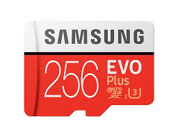 <b>Карта памяти</b> MicroSDXC <b>256GB</b> Samsung Class 10 Evo Plus UHS ...