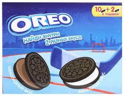 <b>Печенье Oreo Шоколадный вкус</b> и Ванильный <b>вкус</b>, ... — купить по ...