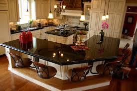 Kitchen Islands With Granite Countertops Dark Kitchen Cabinets With Granite Countertops Quicuacom