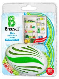 Био-<b>поглотитель запаха для холодильника</b> Breesal, 124 г - купить ...
