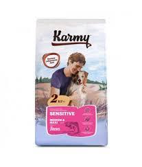 <b>Корм</b> для собак <b>Karmy</b> Adult Dog <b>Sensitive</b> Medium & Maxi «Лосось
