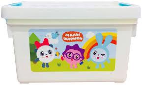 Купить <b>ящик для хранения</b> игрушек Little Angel Малышарики ...
