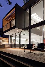 Modern House Design In Mauritius Modern House - Black window frames for new modern exterior