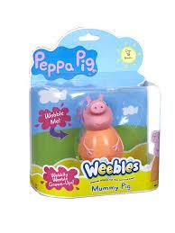 <b>Фигурка неваляшка</b> Мама Пеппы <b>Peppa Pig</b> 2433250 в интернет ...