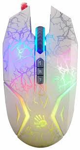 <b>Мышь A4Tech N50</b> Neon White USB — купить по выгодной цене ...