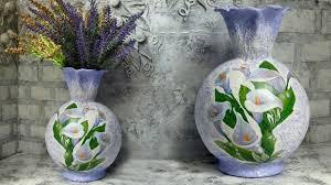 <b>Декоративная ваза</b> своими руками - YouTube