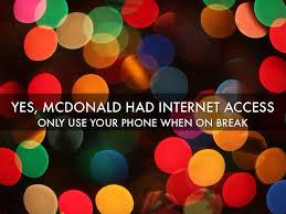 mcdonald s by nou moua yes mcdonald had internet access