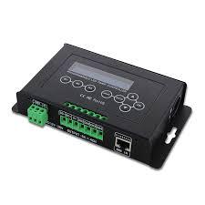 bc 322 6a dc12v 36v timer led dimmer aquarium controller srip light dmx 512 input programmable with lcd display