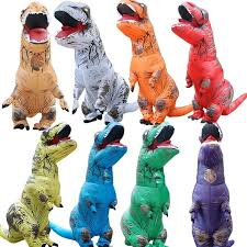 Inflatable <b>T-REX</b> Costume World Park Blowup <b>Tyrannosaurus</b> ...