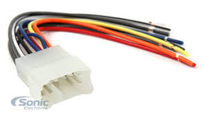 scosche ta02b wire harness to connect an aftermarket stereo zoom