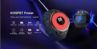 <b>KOSPET Power 4G Watch</b> Phone Offered for $107.99
