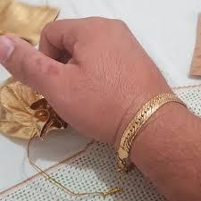 Мужской <b>золотой браслет</b>, <b>ювелирное изделие</b> золотистого ...