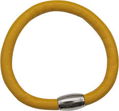 Купить Женский желтый кожаный <b>браслет Liza Geld</b> 81825 ...