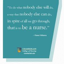 Top 10 Quotes for Nurses - Chamberlain Nursing Blog