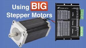 Big <b>Stepper Motors</b> with Arduino - YouTube