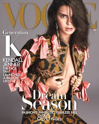 kendall jenner is our issue cover girl vogue