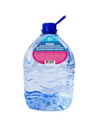 <b>Вода деионизированная</b> 6л