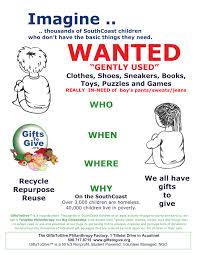 collection drive flyers gifts to give jpg