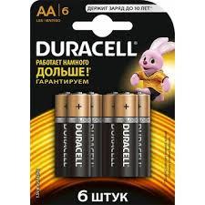 Купить <b>Батарейка Duracell LR6</b>/<b>6BL MN1500</b> в Крыму, цены ...