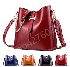 <b>Znakomity</b> Red navy blue leather handbag women <b>shoulder</b> bags ...