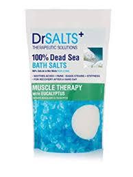 DRSALTS <b>100</b>% Dead <b>Sea</b> Bath Salts with Eucalyptus - Muscle ...