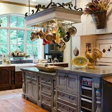 kitchen island pots pans storage ideas classic pot rack with lights with grey kitchen cabinet