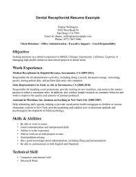receptionist resume key skills equations solver office customer service resume receptionist cv sles