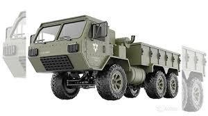 <b>Радиоуправляемая</b> машина <b>Heng Long военный</b> грузовик купить ...