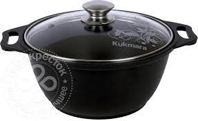 Купить <b>Кастрюля Kukmara</b> литая с крышкой <b>2л</b> с доставкой на ...