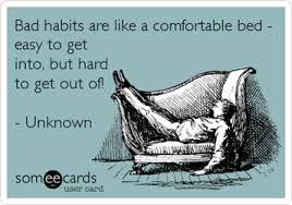 Image result for bad habits