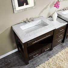 silkroad exclusive 56 inch carrara white marble bathroom vanity photos bathroom vanity