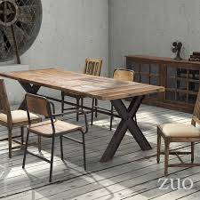 vista dining table zuo modern