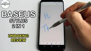 <b>Baseus</b> Stylus review - for capacitive <b>screens</b> - YouTube