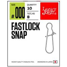 <b>Застежки Lucky John Pro</b> Series Fastlock Snap