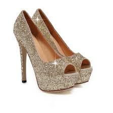 Gorgeous Gold Heels UK