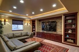 Basement Home Theater <b>TV Wall</b> - Классический - Подвал ...